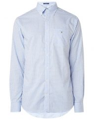 Gant The Broadcloth regular fit overhemd met ruitdessin